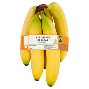 Sainsbury's Fairtrade Bananas x5