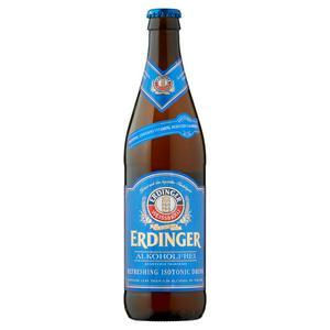 Erdinger Weissbrau Low Alcohol Lager Beer Bottle 500ml