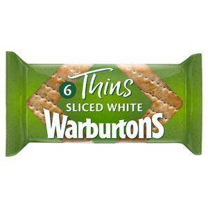 Warburtons Sandwich Thins x6