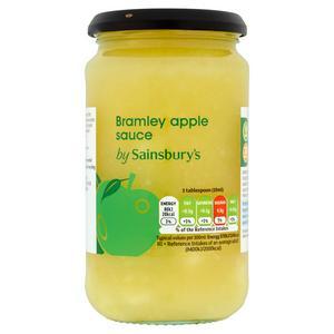 Sainsbury's Bramley Apple Sauce 420ml