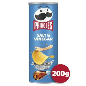 SAINSBURYS > General > Pringles Salt & Vinegar Crisps 200g