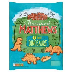 Bernard Matthews Frozen Turkey Dinosaurs 450g