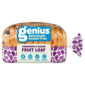 Genius Gluten Free Spicy Sliced Fruit Loaf 400g