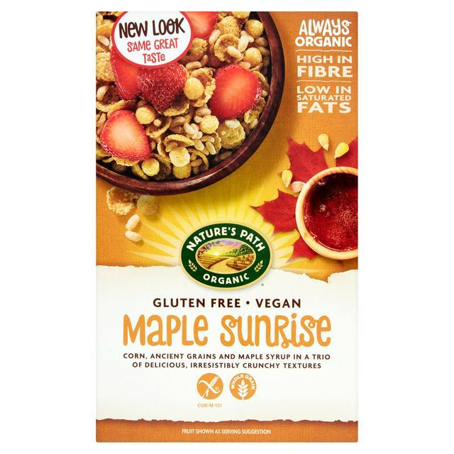 Nature S Path Gluten Free Maple Sunrise 332g Sainsbury S
