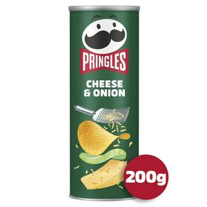 SAINSBURYS > Food Cupboard > Pringles Cheese & Onion 200g