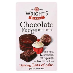 Wright's Chocolate Fudge Cake Mix 500g