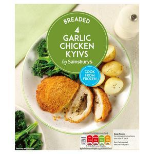 Sainsbury's Chicken Garlic Kievs x4 490g