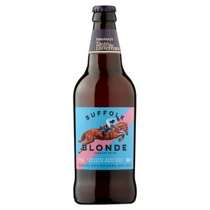 Sainsbury's Suffolk Blonde Ale, Taste the Difference 500ml