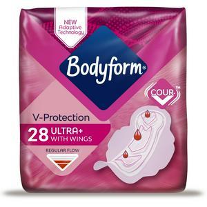 Bodyform Ultra Normal Sanitary Towels Wings x28
