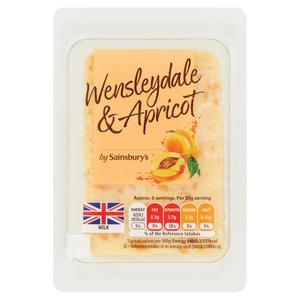 Sainsbury's Wensleydale & Apricot Cheese 200g