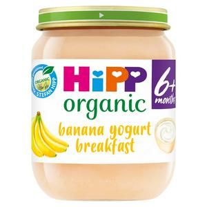 HiPP Organic Banana Yogurt Breakfast 125g