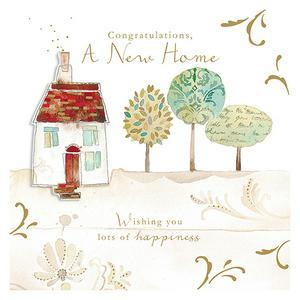 Contemporary New Home Card