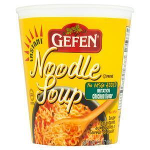 Gefen Instant Noodle Soup, Chicken 65g