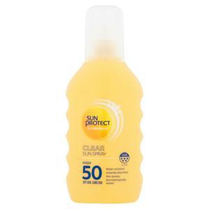 Sun Protect Clear Sun Spray SPF50 200ml
