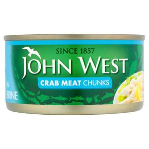 John West White Crab Meat 170g 120g Sainsbury S