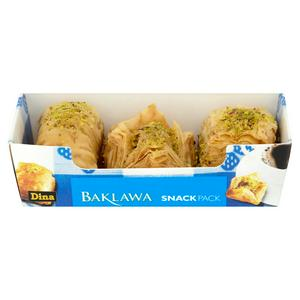 Dina Hand Made Baklawa Snack Pack