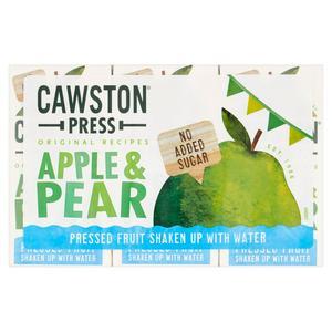 Cawston Press Apple & Pear Juice 3x200ml