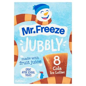 Jubbly Ice Lollies Cola 8x62ml