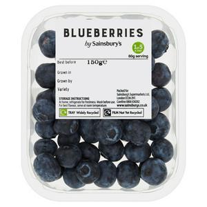 Sainsbury's Blueberries 150g