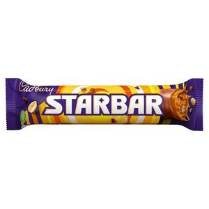 SAINSBURYS > Food Cupboard > Cadbury Starbar 49g