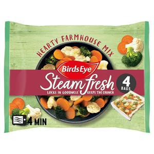 Birds Eye Hearty Farmhouse Mix Steamfresh x4 540g
