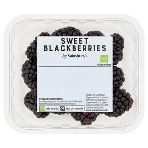 Sainsbury's Blackberries, Sweet 150g