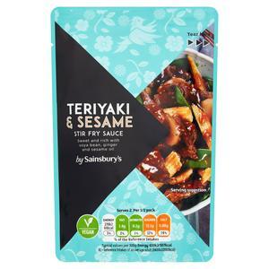 Sainsbury's Teriyaki Stir Fry Sauce 120g