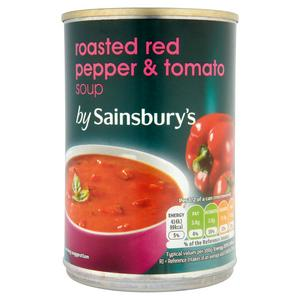 Sainsbury's Tomato & Red Pepper Soup 400g