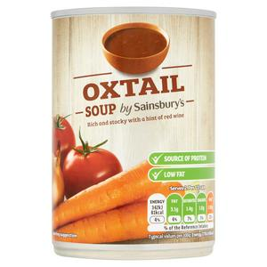 Sainsbury's Oxtail Soup 400g