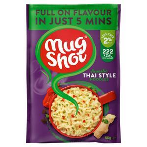 Mug Shot Noodles, Thai Style 55g