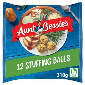Aunt Bessie's Sage & Onion Stuffing Balls 310g