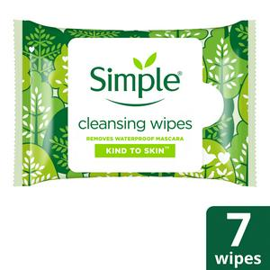 Simple Kind To Skin Cleansing Facial Wipes x7