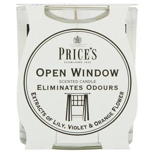 Price's Open Window Candle Jar