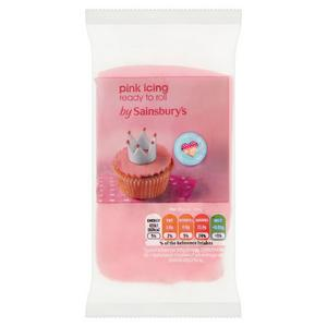 Sainsbury's Ready to Roll Pink Icing 250g