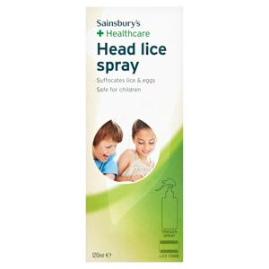 Sainsbury's Head Lice Spray 120ml