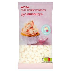 Sainsbury's Mini White Mallows 180g
