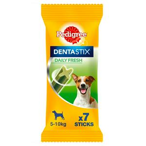 Pedigree Dentastix Fresh Small Dog Dental Chews Treat Sticks x7