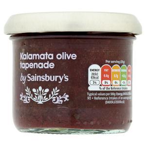 Sainsbury's Kalamata Olive Tapenade 100g