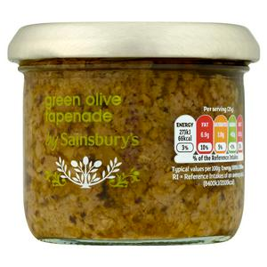 Sainsbury's Green Olive Tapenade With Herbs 100g