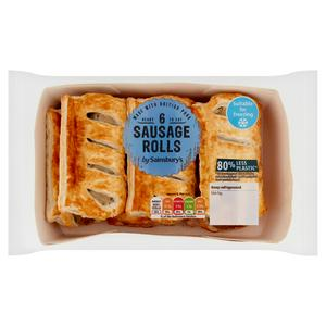 Sainsbury's Sausage Rolls x6 360g