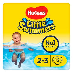 Huggies Little Swimmers Size 2-3  12 Swim Nappies