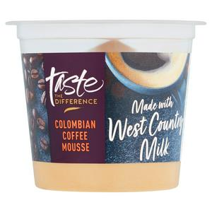 Sainsbury's Mousse Colombian Coffee, Taste the Difference 100g