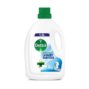 Dettol Laundry Sanitiser Antibacterial Liquid Additive Fresh Cotton 1.5L