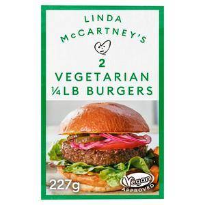 Linda McCartney Quarter Pounder Burger x2 227g