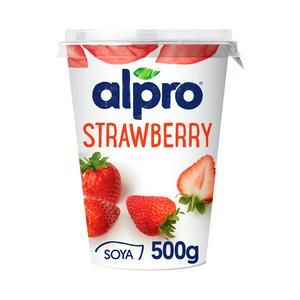 Alpro Strawberry Yoghurt Alternative 500g