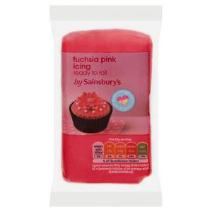 Sainsbury's Ready to Roll Fuscia Pink Icing 250g