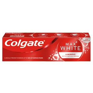 Colgate Max White Luminous Sparkling Mint Whitening Toothpaste 75ml
