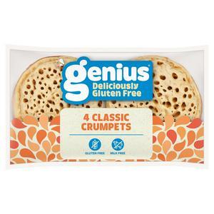 Genius Gluten Free Crumpets x4