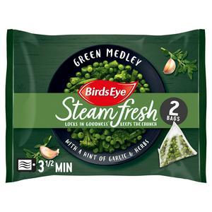 Birds Eye Green Medley Steamfresh x2 300g
