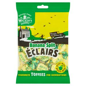 Walkers Banana Split Eclairs 150g